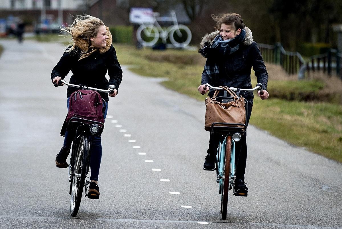 windstoten fiets anp