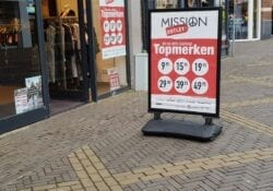 Mission outlet aanbieidng