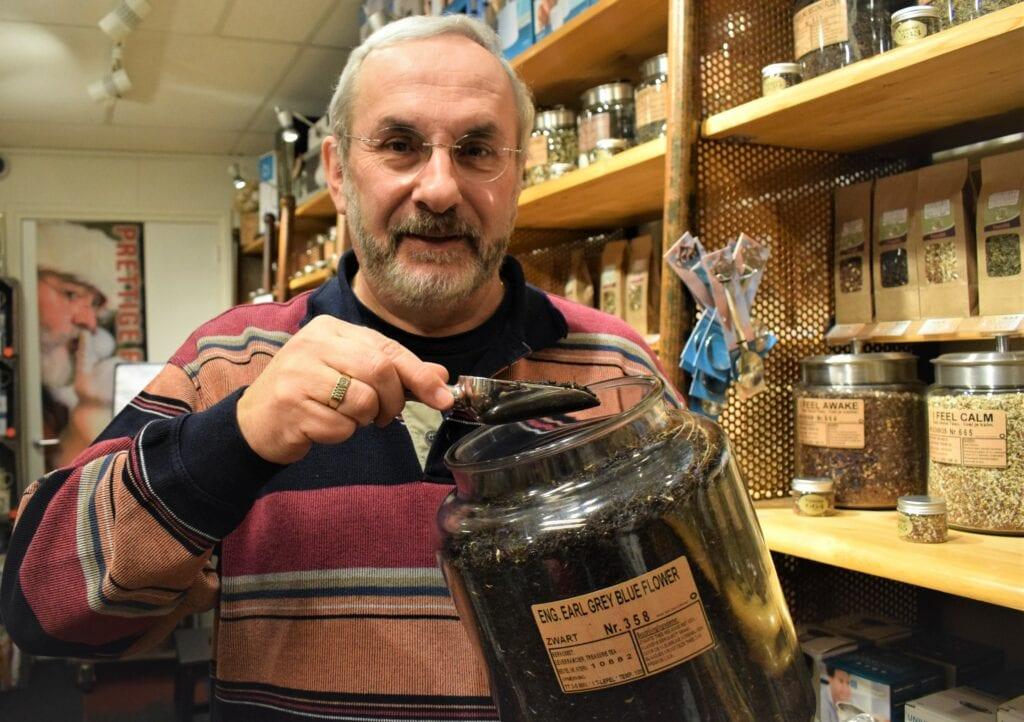 Rob, thee bij Koffiebranderij Venetië