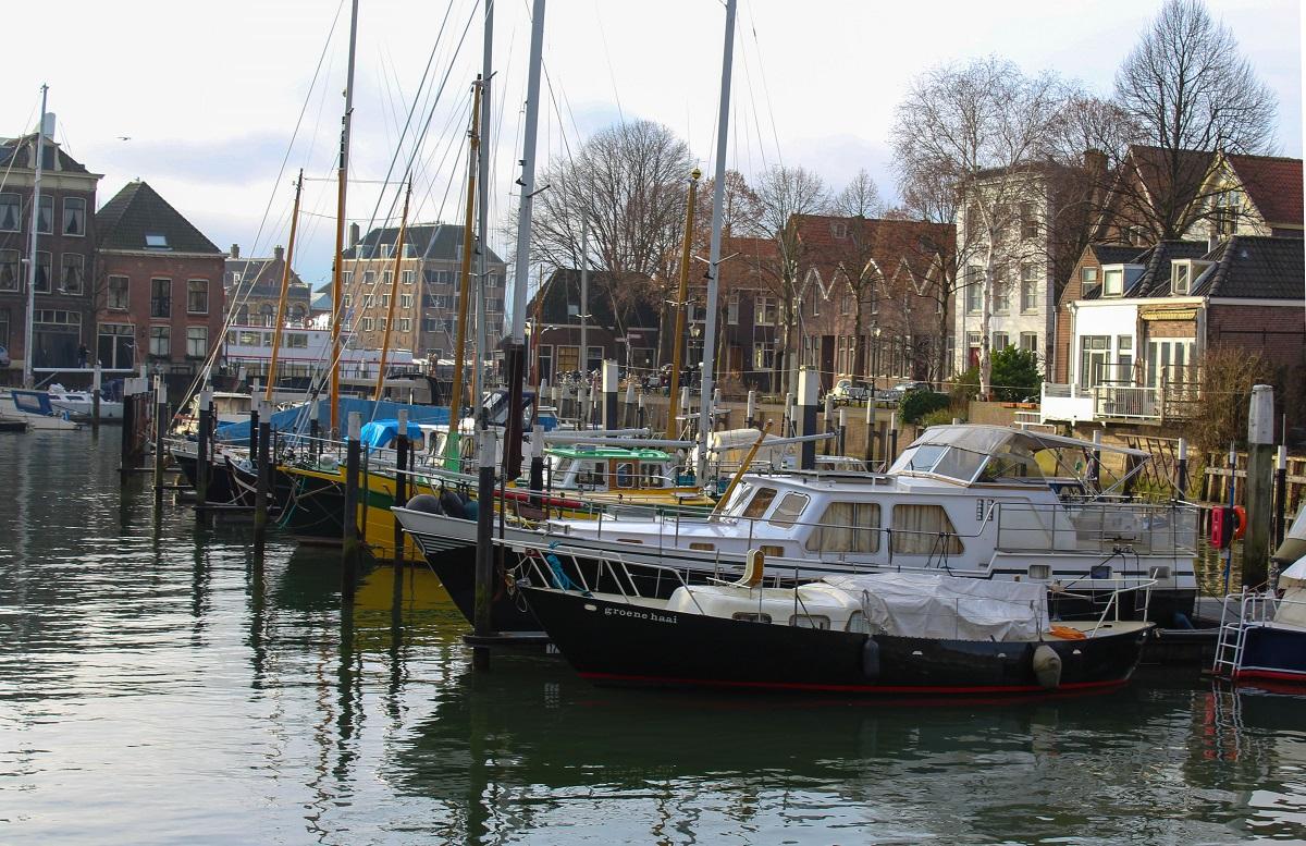 Dordrecht stock haven boten