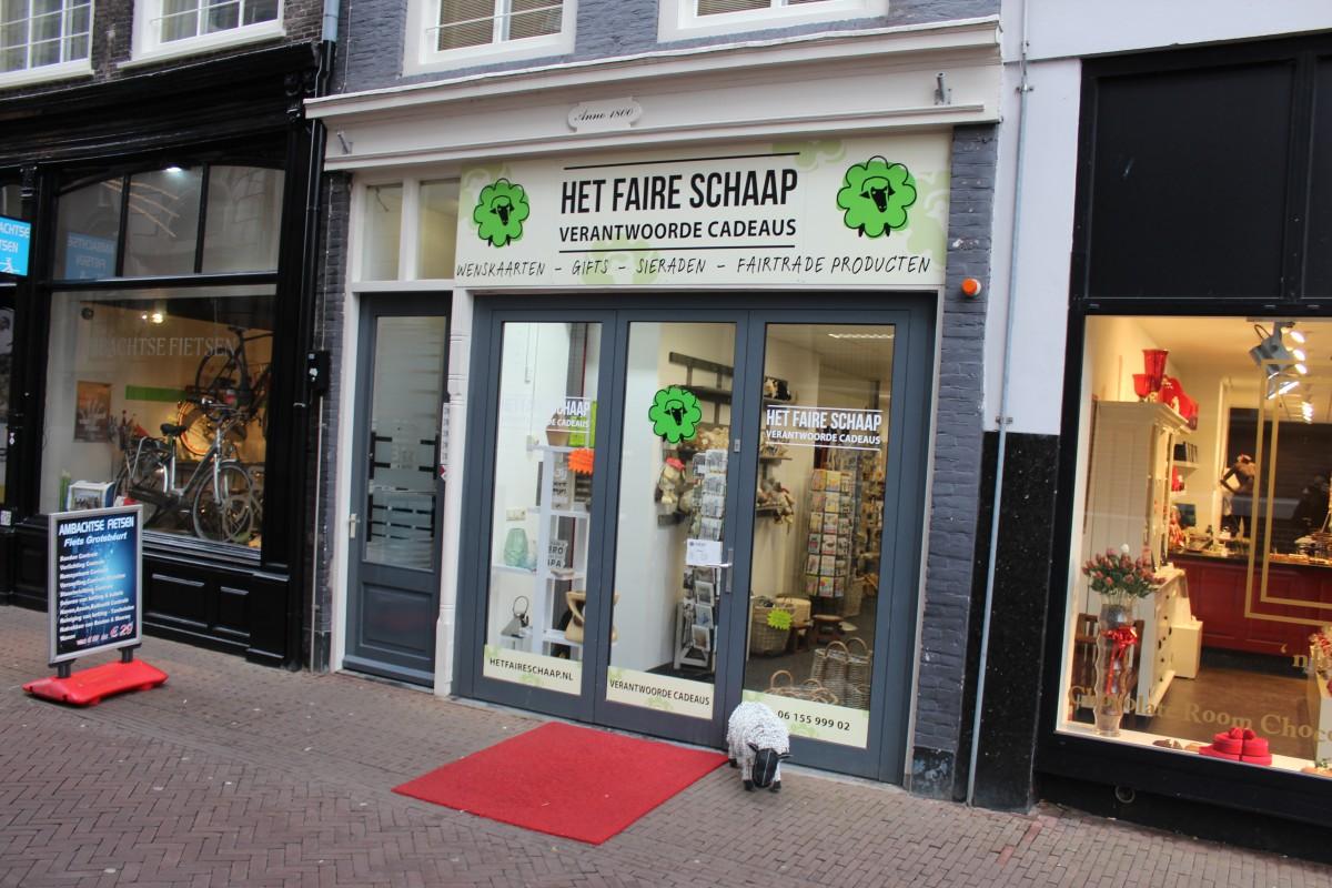 Het Faire Schaap - Fairtrade winkel Dordrecht - indebuurt.nl