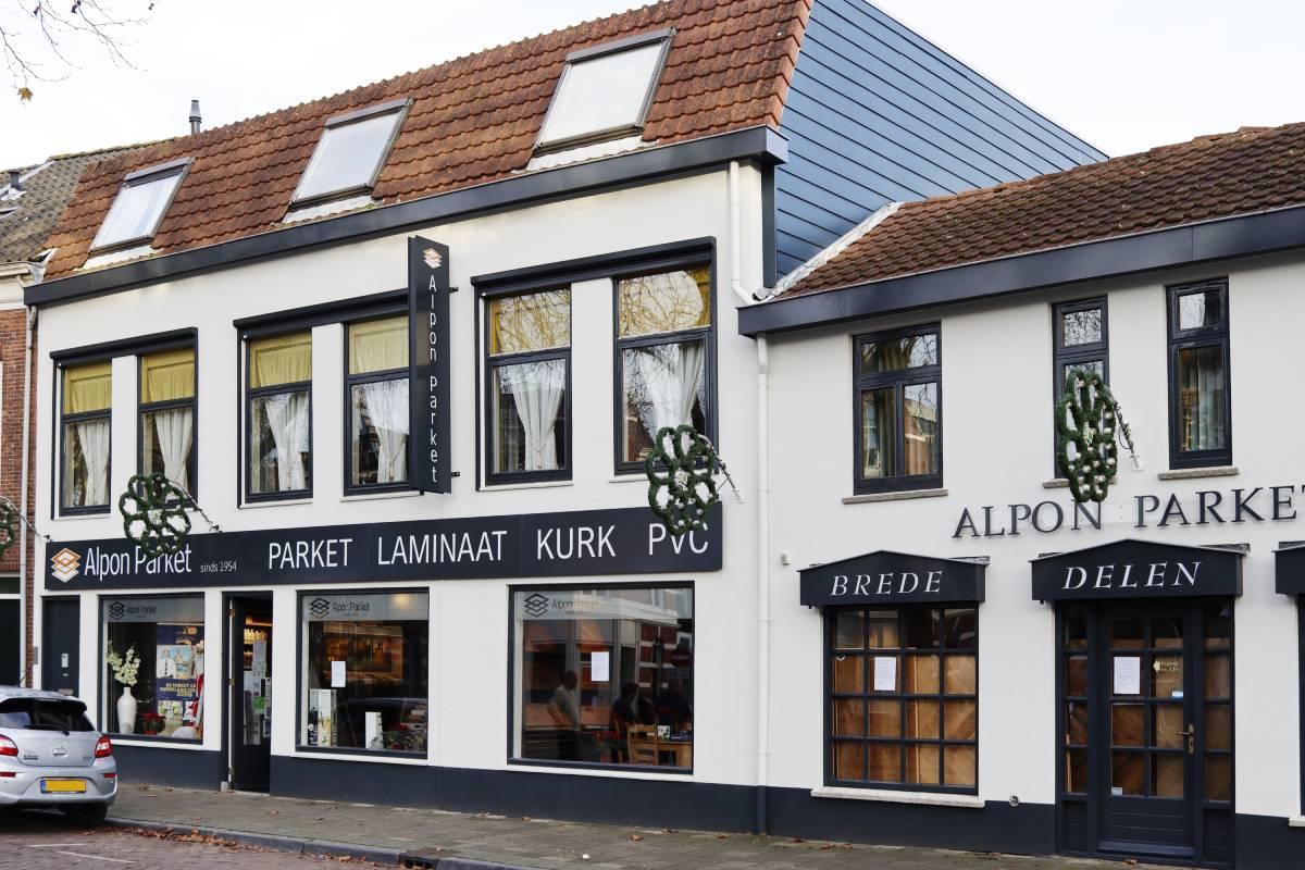 Alpon Parket vloerspeciaalzaak laminaat pvc kurk bamboe houten vloeren Dordrecht Blekersdijk