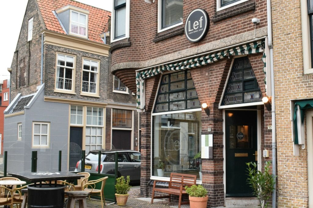 Lef restaurant bar brasserie bistro - indebuurt Dordrecht