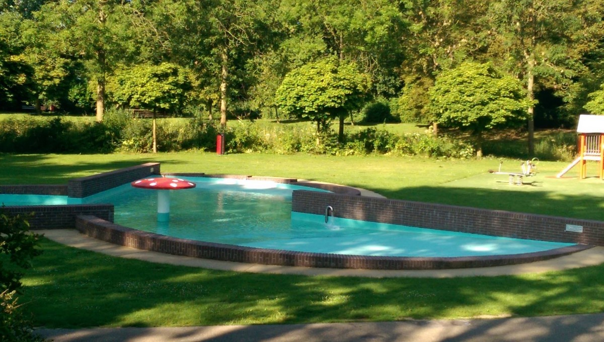 zwembadje de paddenstoel peuterbadje Wantijpark Dordrecht