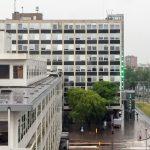 Stadskantoor Dordrecht groene rode lampen