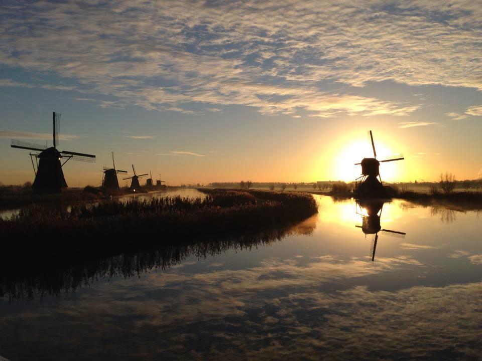 Werelderfgoed Kinderdijk / World Heritage Kinderdijk fietsen Dordrecht Fietsafstand