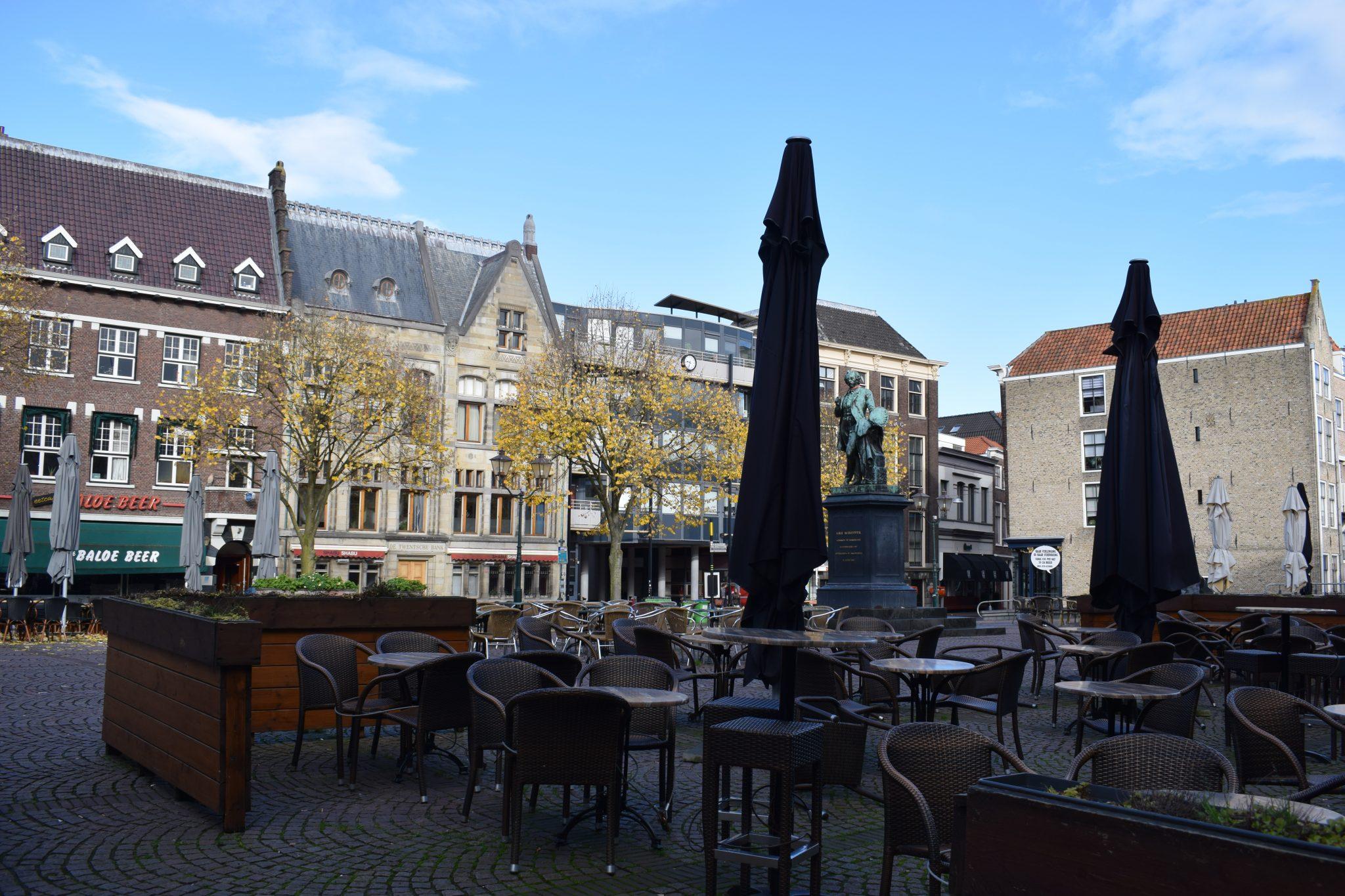 Scheffersplein Dordrecht terras