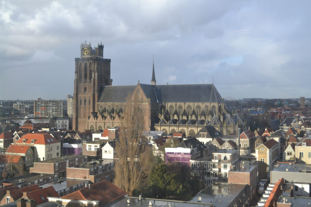 binnenstad Wouter Kolff Burgemeester Dordrecht