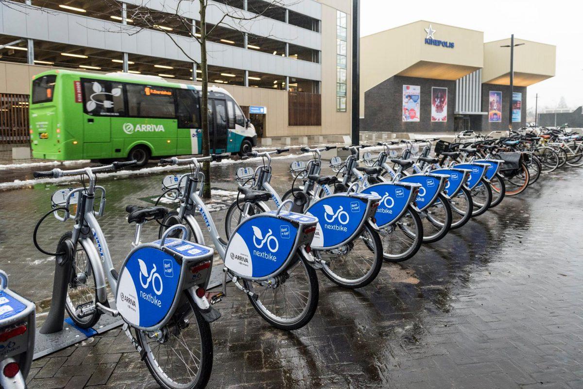Arriva Nextbike Dordrecht Kinepolis - indebuurt.nl