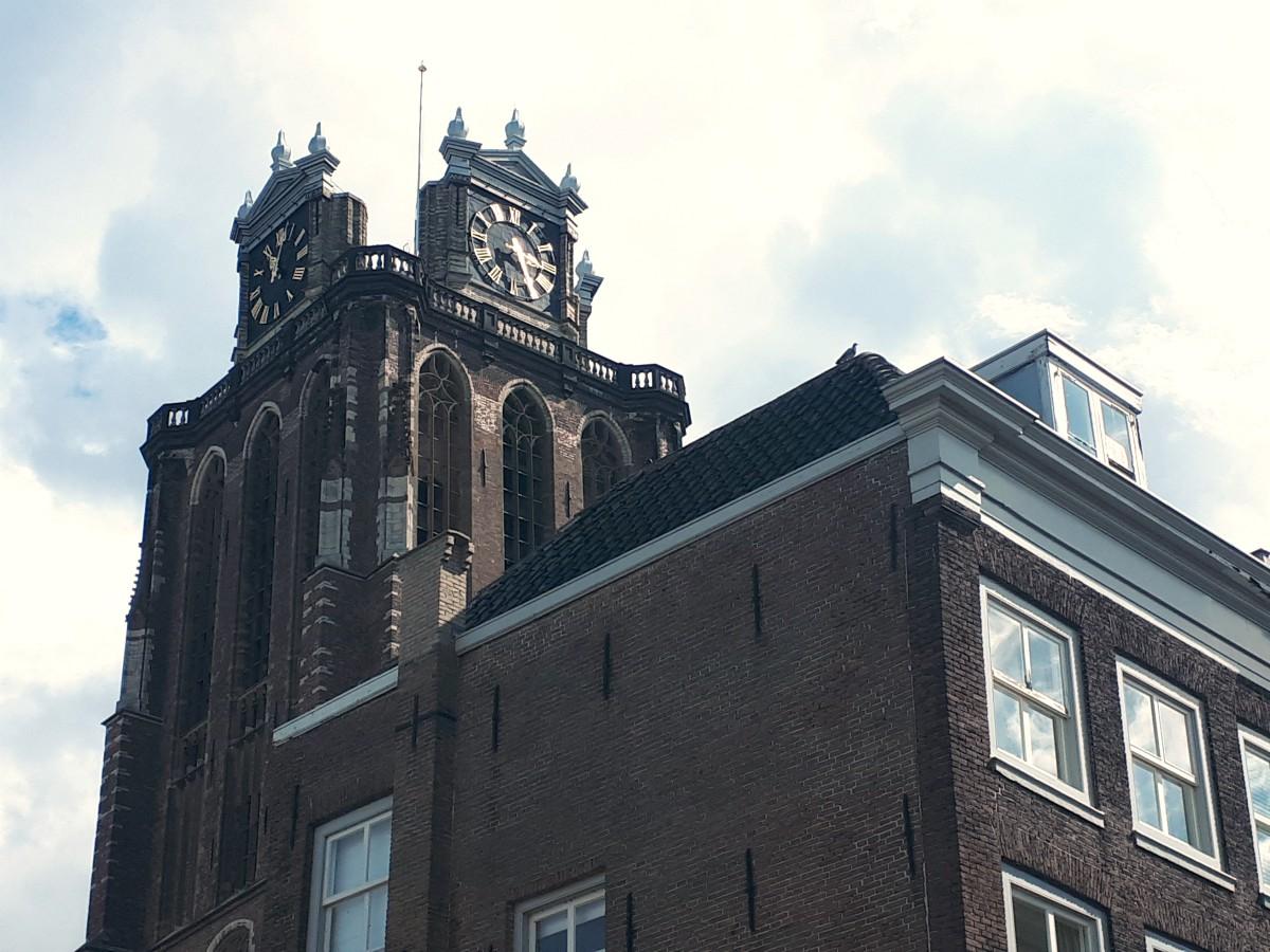 Grote Kerk Dordrecht - Dordtse Dom - klok kapot - indebuurt Dordrecht