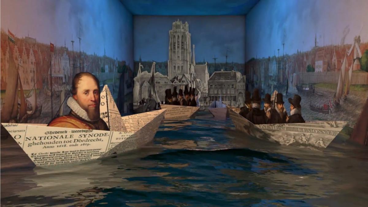 Sanne's Synode - Film Dordtse Synode - Dordrecht film - indebuurt.nl
