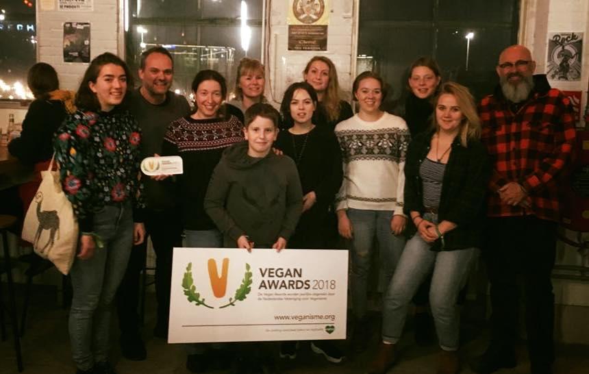 daantje-food-drinks vegan award 2018