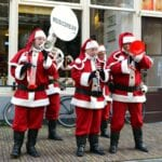 Kerstmarkt Dordrecht Brassband Musicdream - indebuurt Dordrecht.JPG