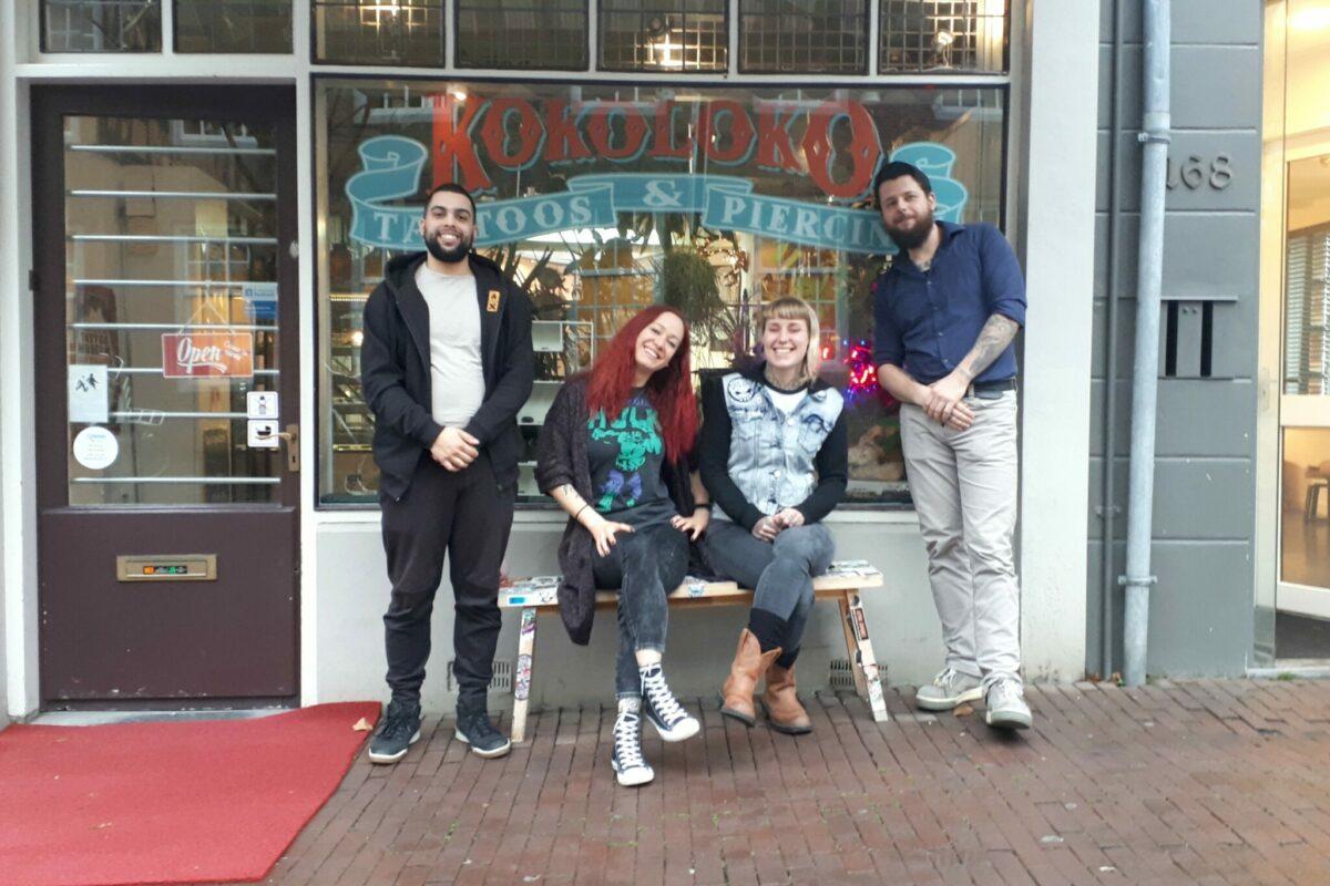 Het team van Koko Loko Tattoo & Piercing - indebuurt Dordrecht