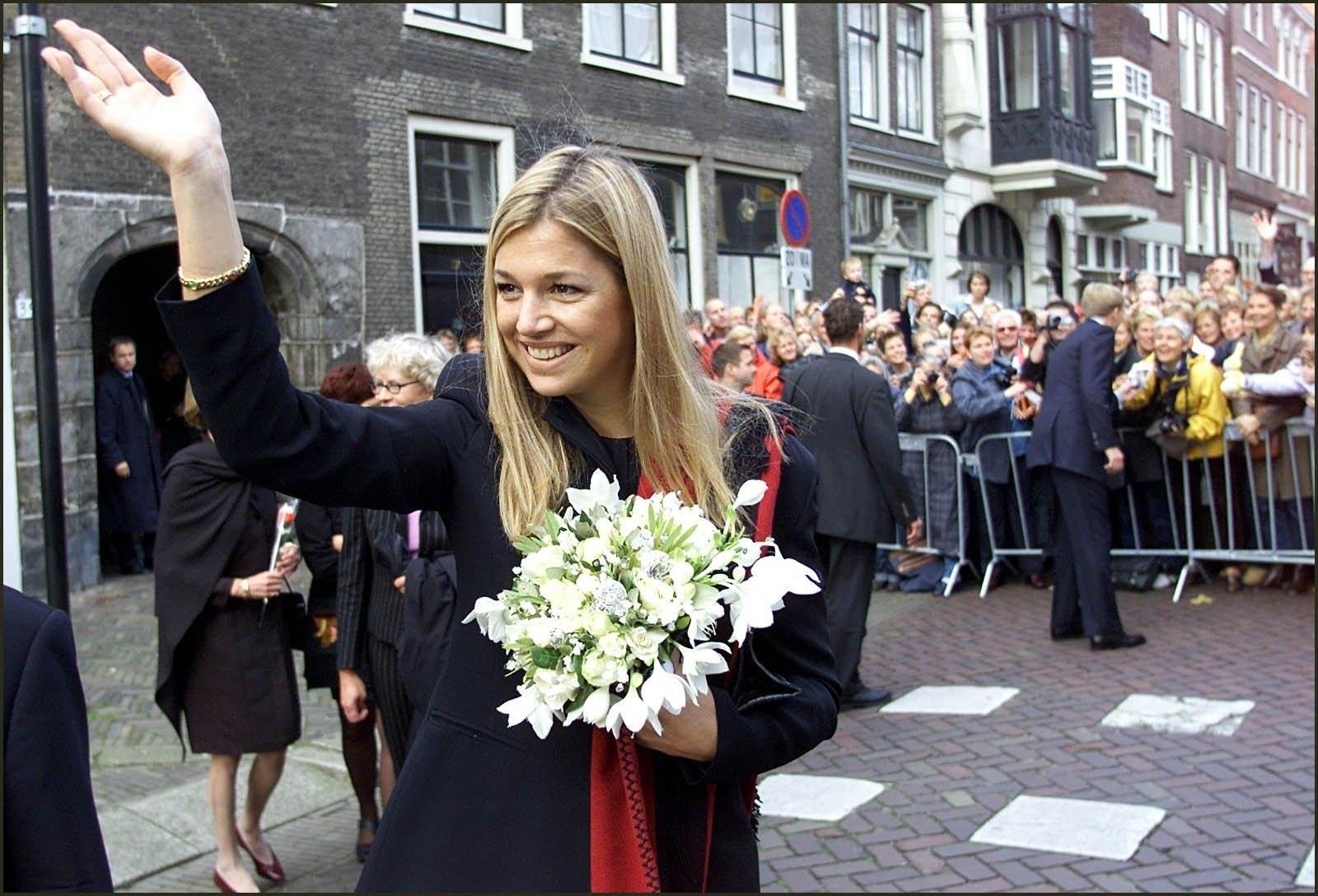 Maxima kennismaking met Dordrecht 2001