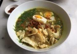 Soto Ayam bij CUCU Foodbar