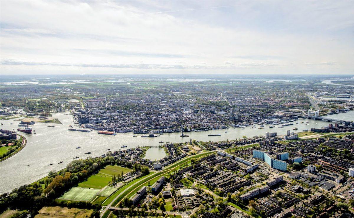 luchtfoto Dordrecht anp