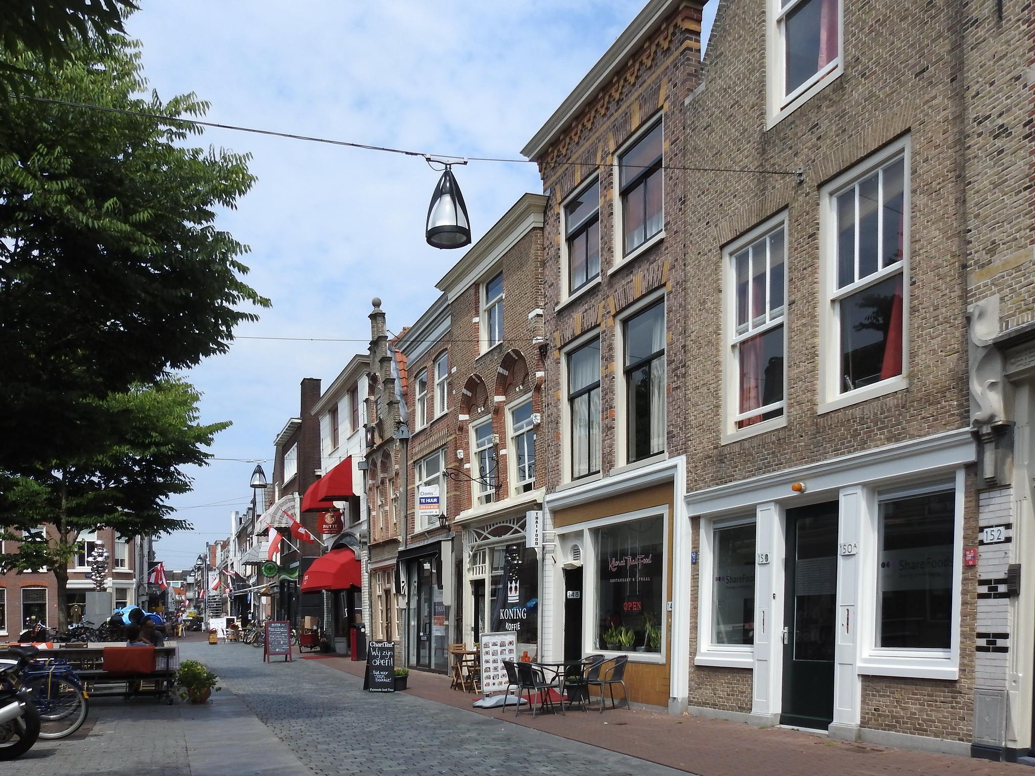 Dordrecht Vrieseplein Vriesestraat IDBstock - indebuurt Dordrecht