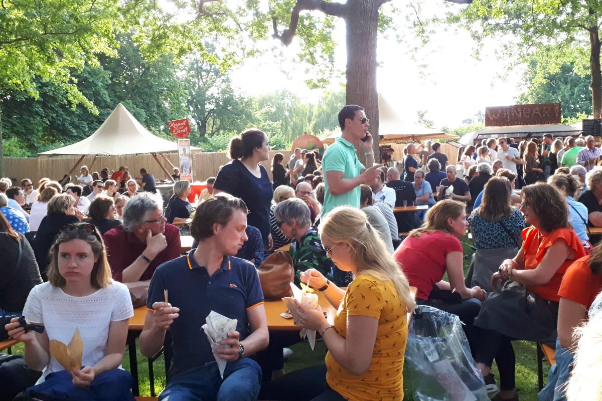 Live at Wantij 2019 - foodcourt - indebuurt Dordrecht