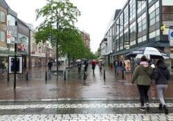 Sarisgang regen centrum - indebuurt Dordrecht