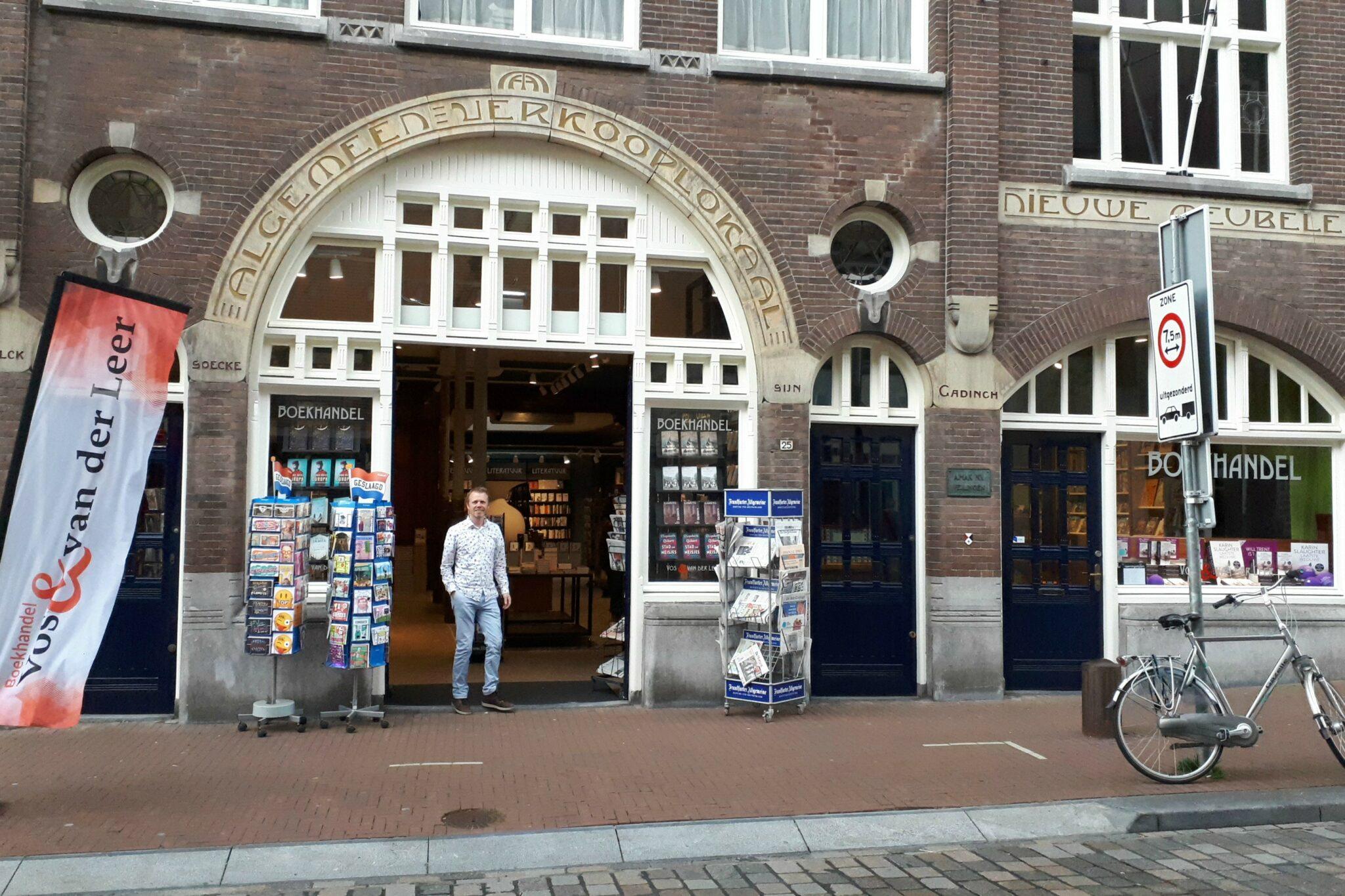 Boekhandel Vos & Van der Leer - Veilinghuis Mak - Visweg - indebuurt Dordrecht