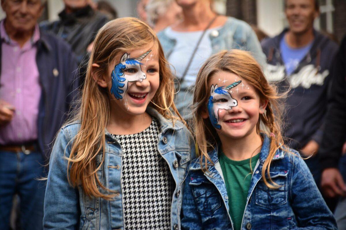 Voorstraat Noord Festival schmink - indebuurt Dordrecht