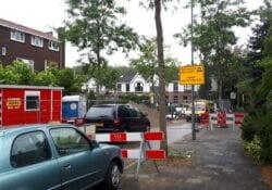 Werkzaamheden wegwerkzaamheden IDBstock - indebuurt Dordrecht
