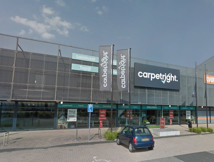 Carpetright - indebuurt Dordrecht