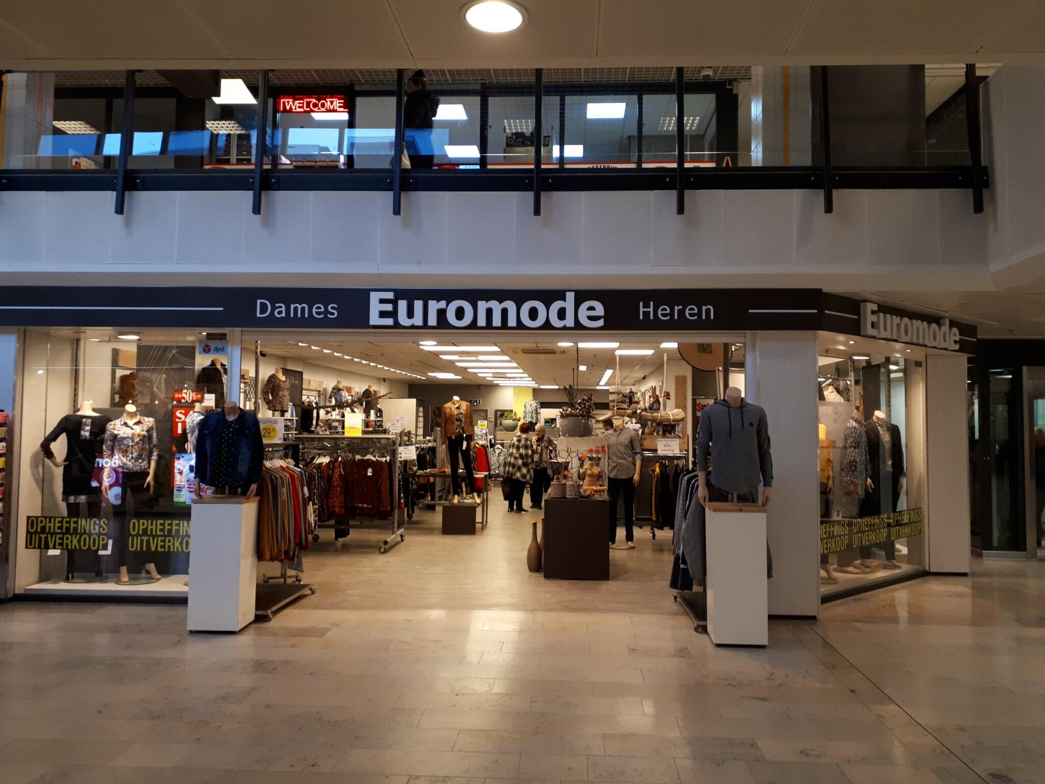Euromode kledingzaak Sterrenburg