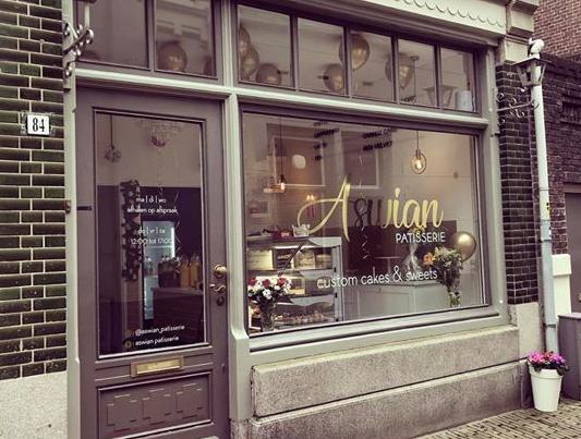 Aswian Patisserie Vleeshouwerstraat taarten dripcakes