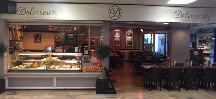 Lunchroom Delicious Winkelcentrum Sterrenburg Dordrecht