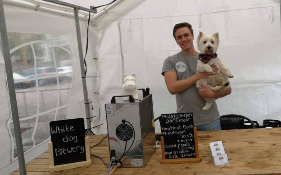 White Dog Brewery Ricky Maertzendorff