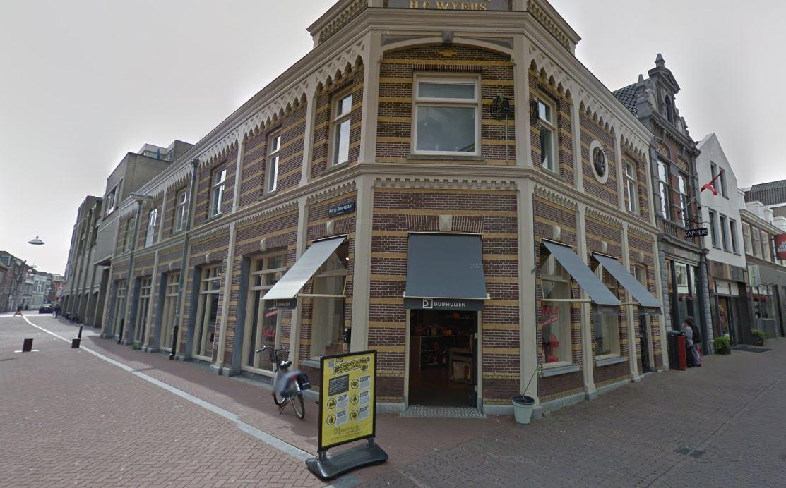 Duifhuizen Dordrecht Korte Breestraat tassenwinkel koffers