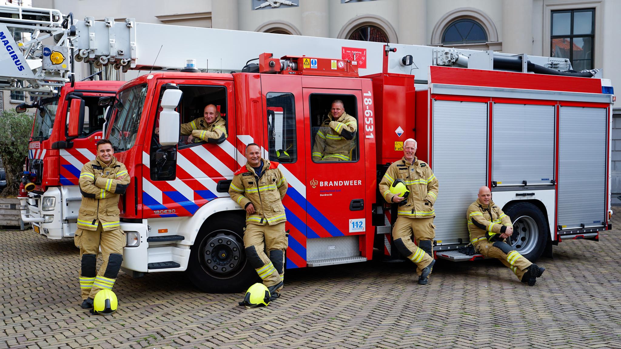 Brandweer Dordrecht vacature