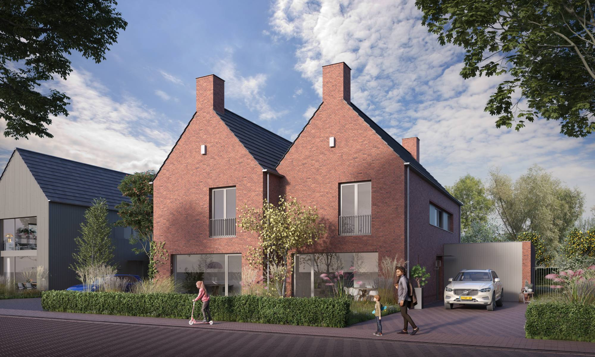 Nieuwbouwproject Dordrecht huis woning - Lousia's Weelde