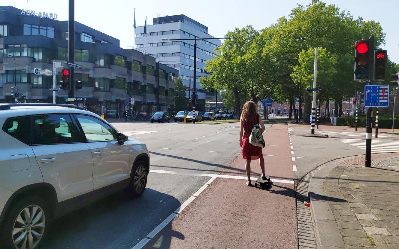 Skaten skateboarden skeeleren Dordrecht weg regels
