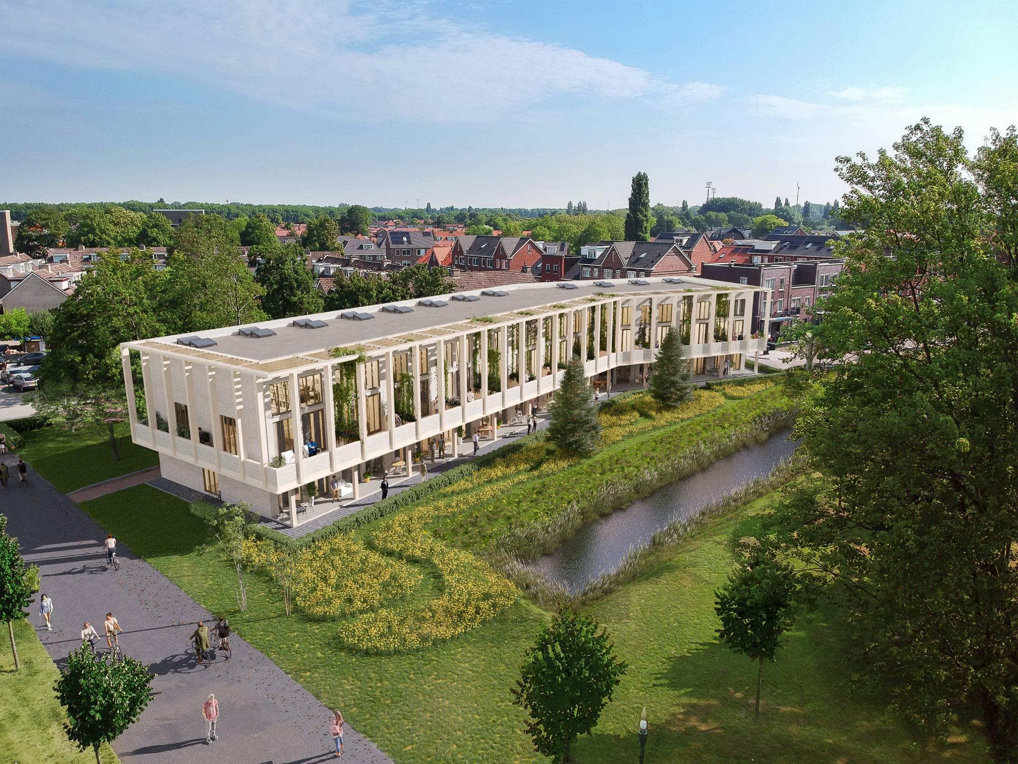 De Valk nieuwbouwproject Land van Valk exterieur wonen Dordrecht