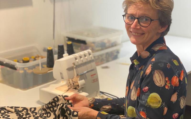 Bahlmann Mode Dordrecht Coupeuse naaiatelier Ria van Gasteren dameskleding