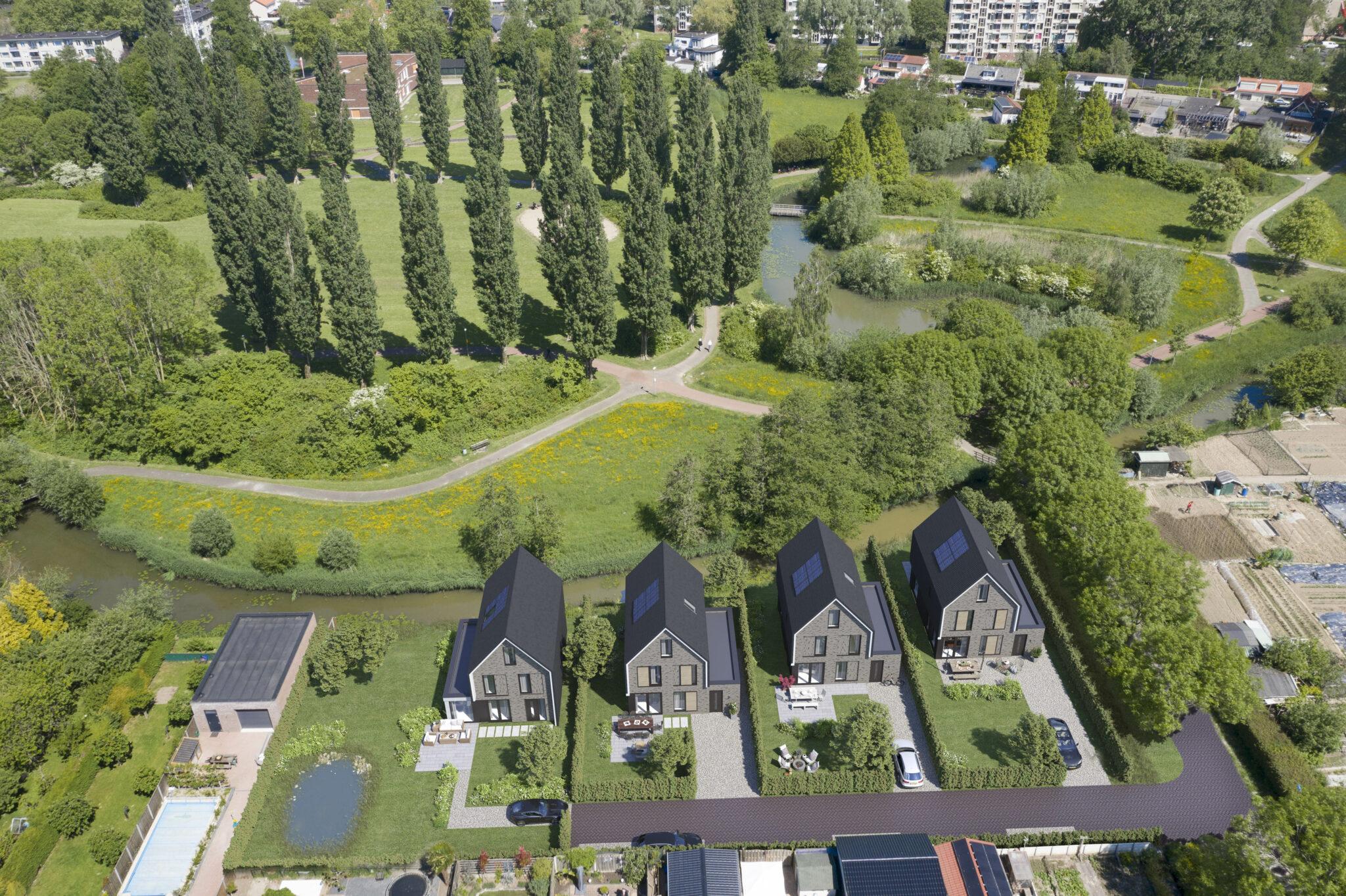 Reeparq nieuwbouwwoning Wielwijk Dordrecht vrijstaand Wielwijkpark