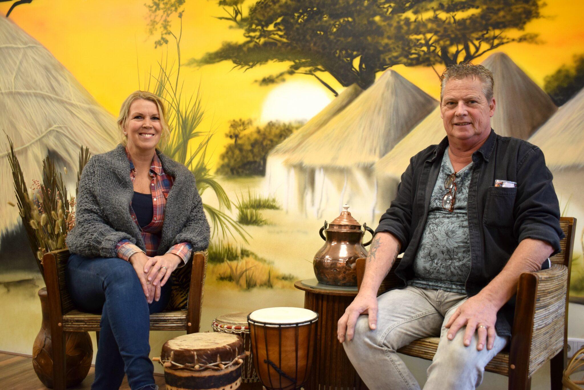 Ruud en Hennie Stokman Klein Afrika