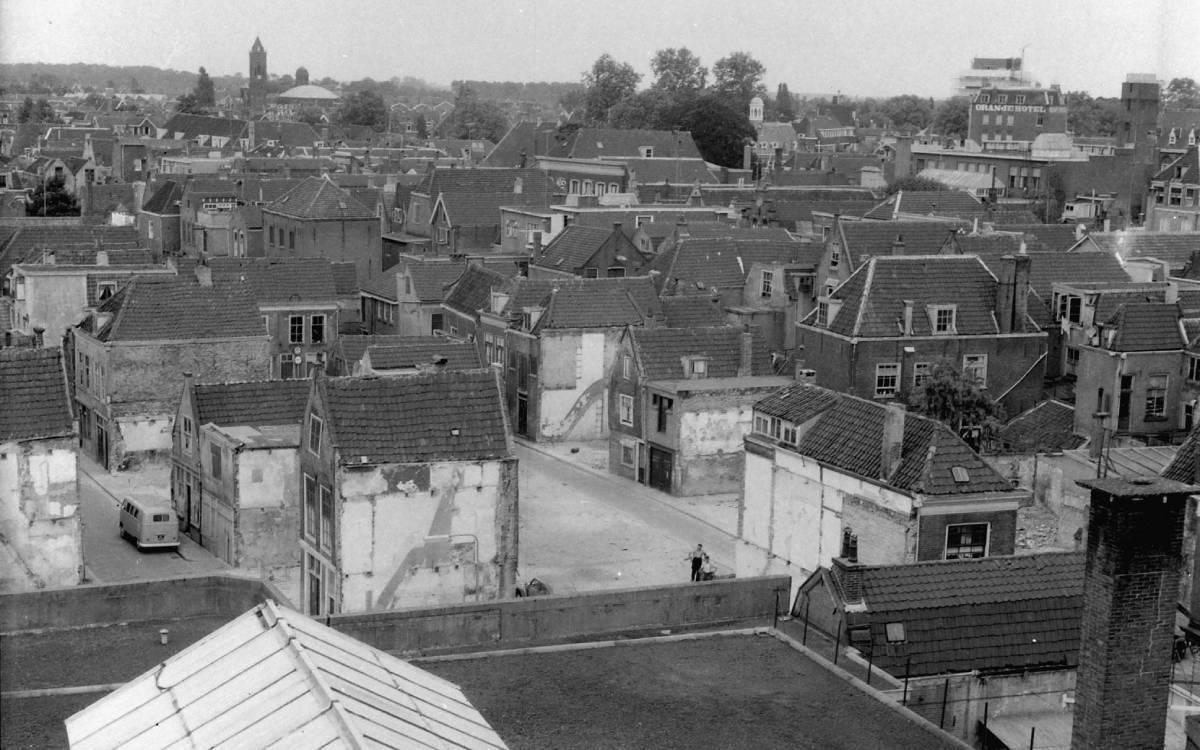 Panorama oude binnenstad Dordrecht - Regionaal Archief Dordrecht