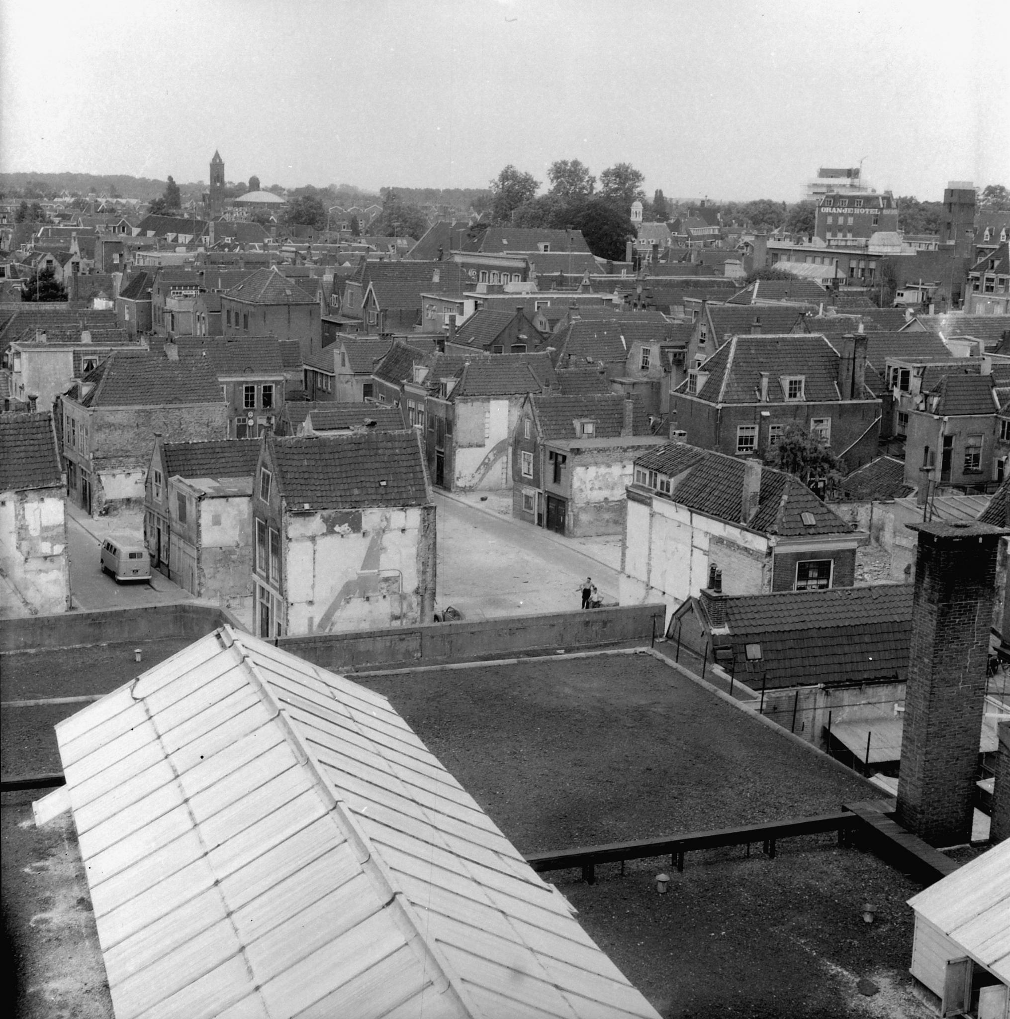 Panorama oude binnenstad Dordrecht - Regionaal Archief Dordrecht.