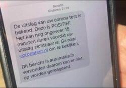 Coronatest uitslag sms nep - Veiligheidsregio ZHZ