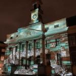 Dwaalspoor lichtprojecties lichtfestival Dordtse Decemberdagen Dordrecht