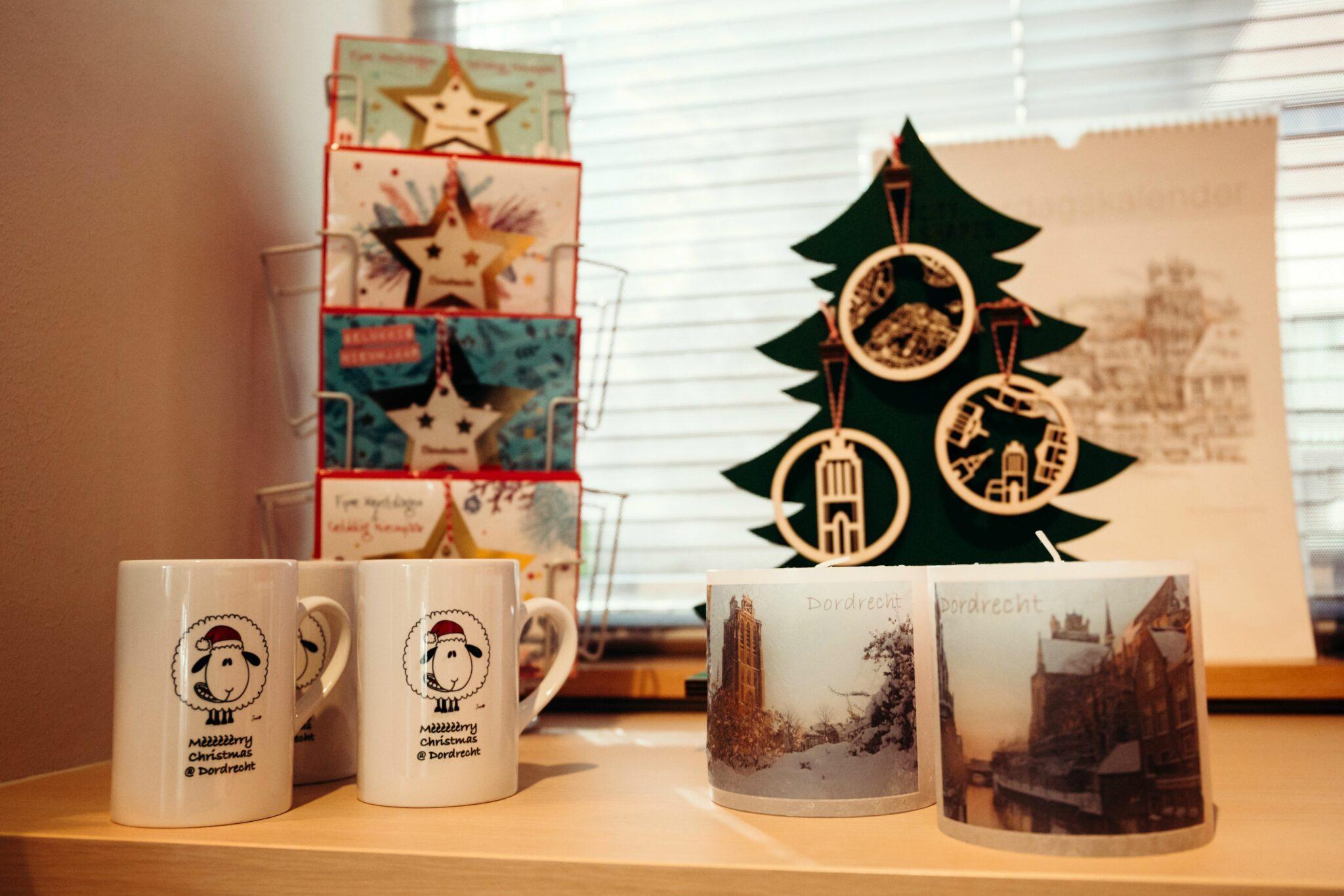 Kerst cadeau Dordrecht Dordtse cadeautjes VVV intree