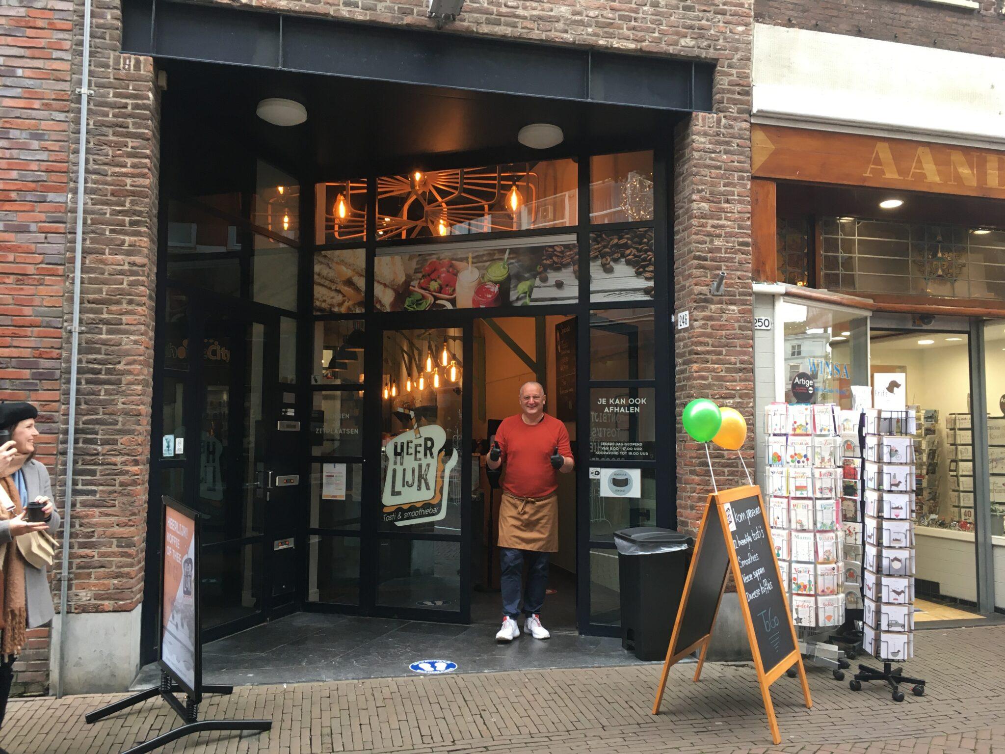Tosti & Smoothiebar HEERLIJK | Indebuurt Dordrecht