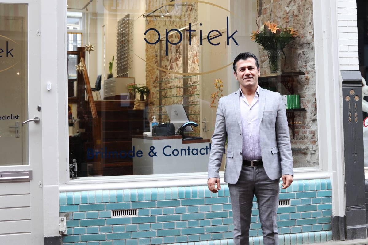 Optiek Dordrecht Voorstraat - Shirwan Kadir opticien brilspeciaalzaak