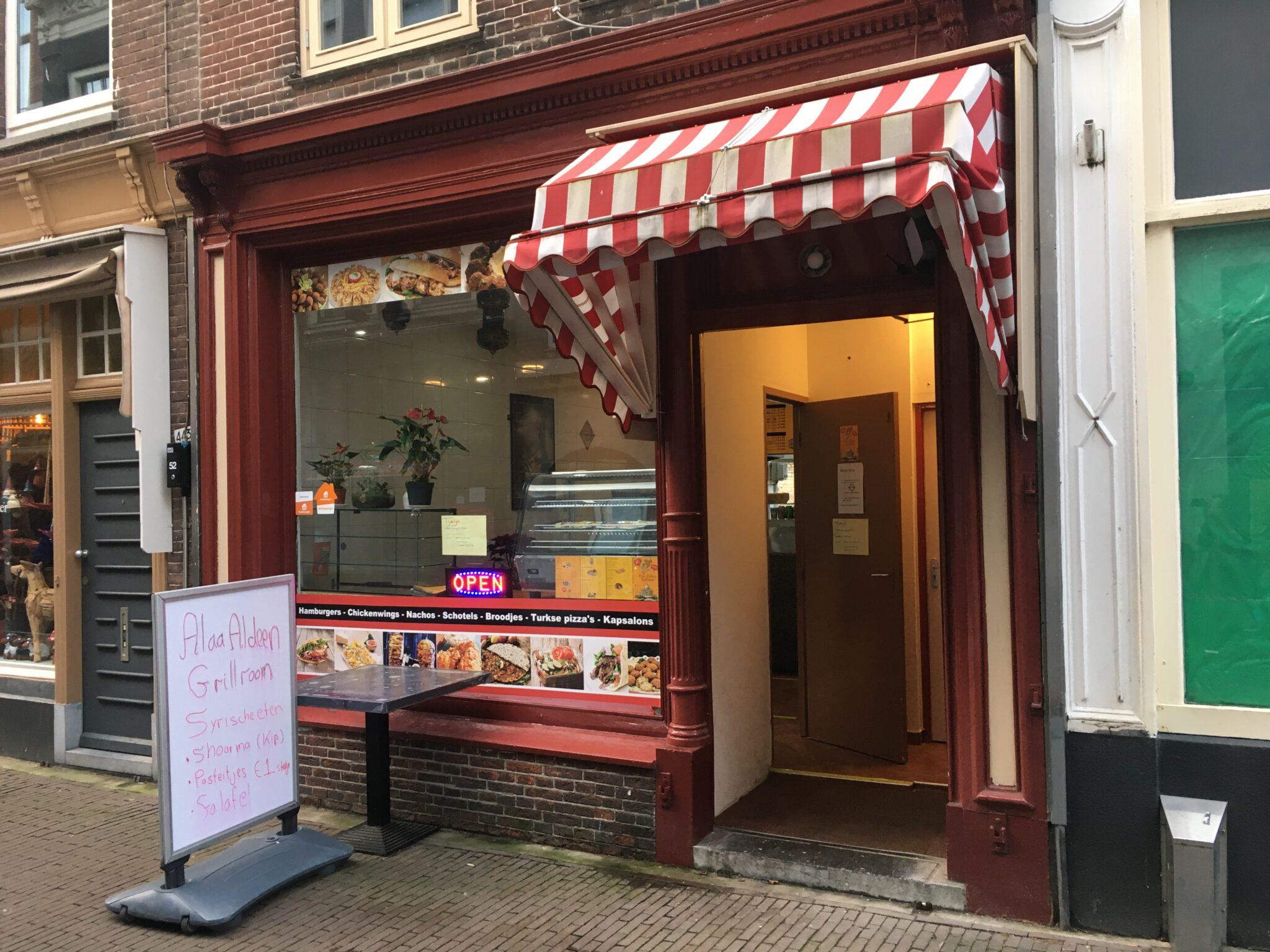 Alaa Aldeen Caroline at Syrische pasteitjes | Indebuurt Dordrecht
