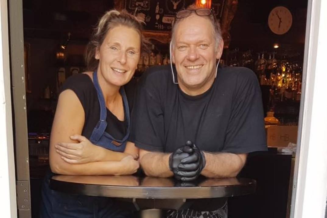 Bianca en Hubèrt Café Sebes De Smulplank Dordrecht Krispijnseweg (1)