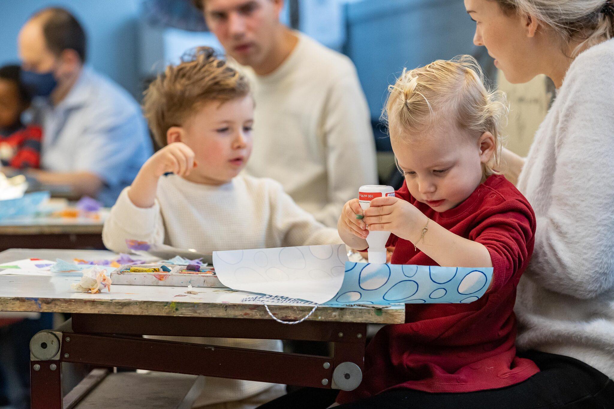 ToBe cultuurcentrum Dordrecht cursus kunsthoppen peuters